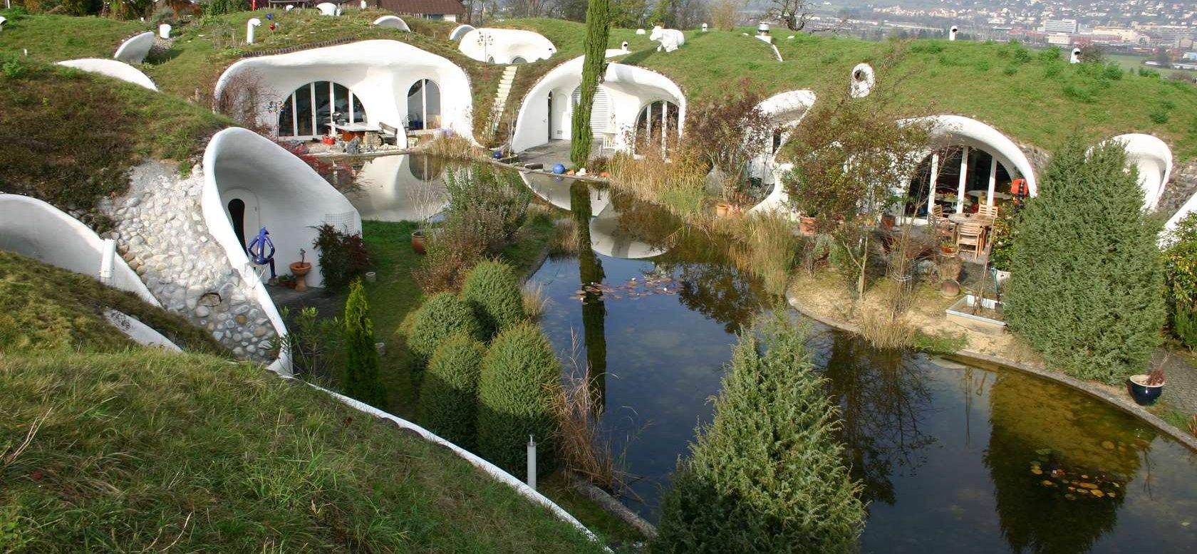 Earth House Estate Lättenstrasse – hobbit home