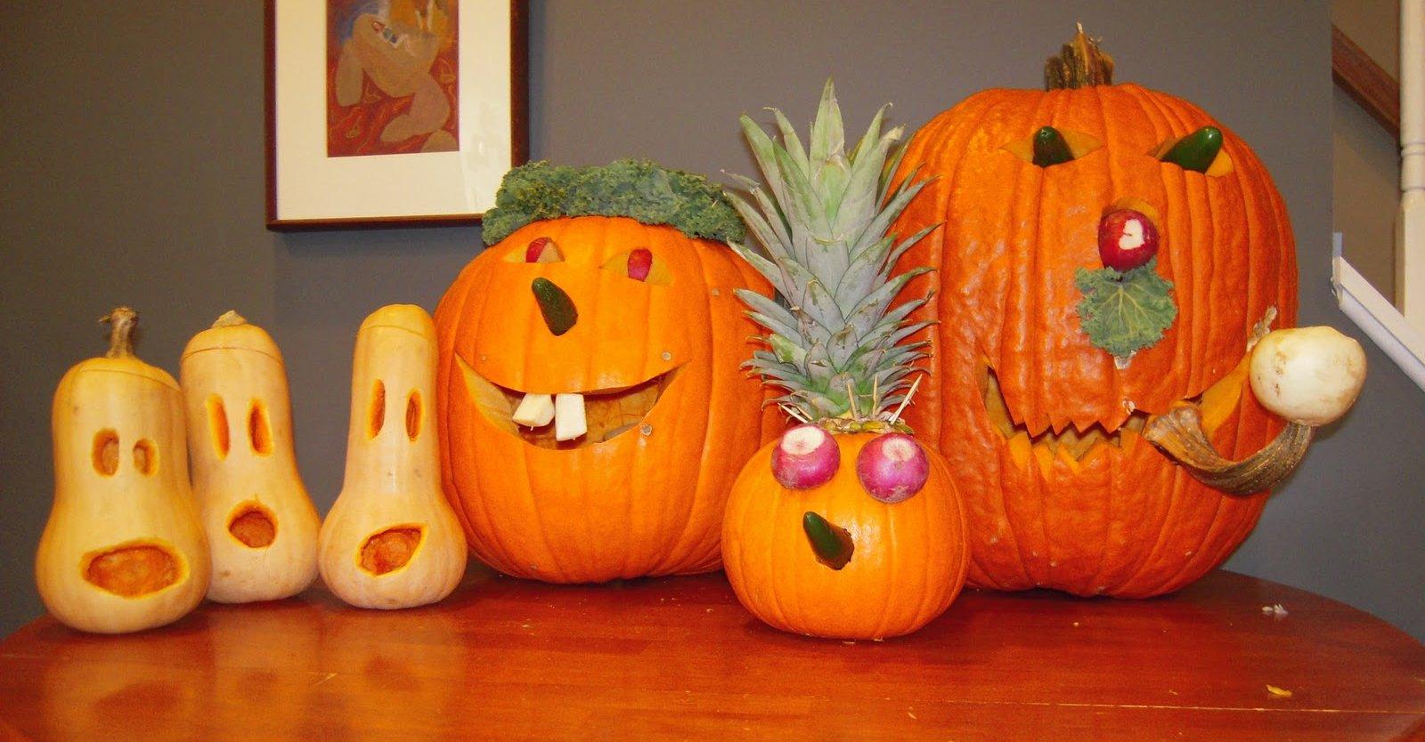 Edibles – pumpkin carving halloween