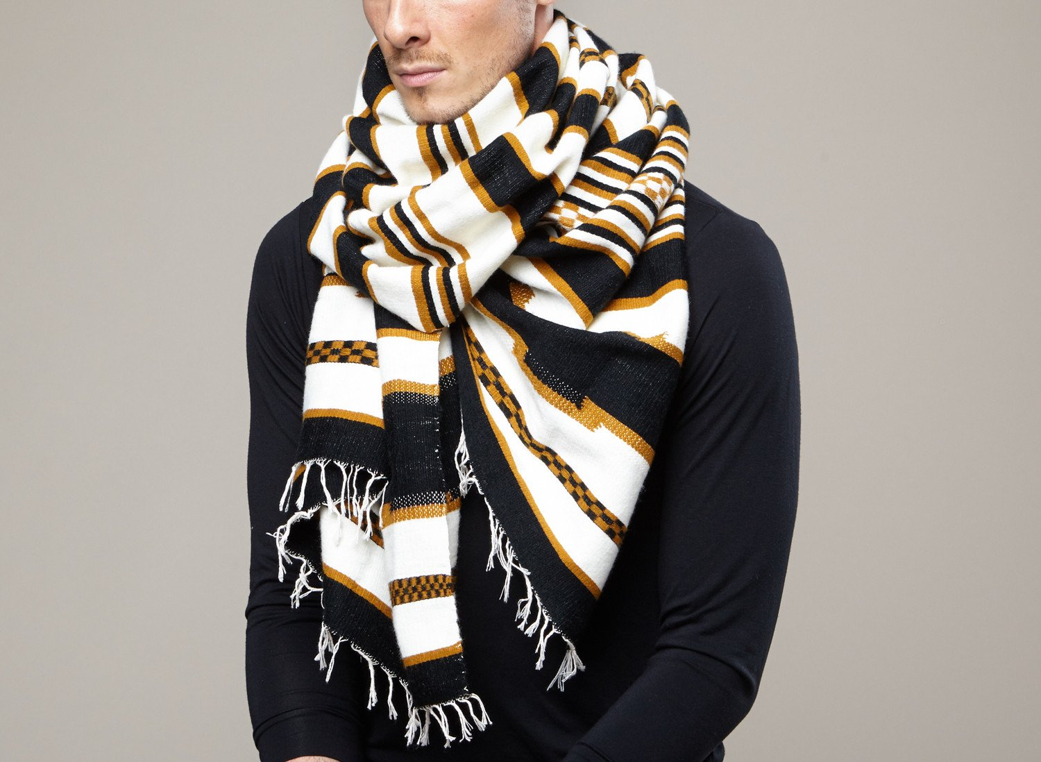 Flair – how to wear a scarf men