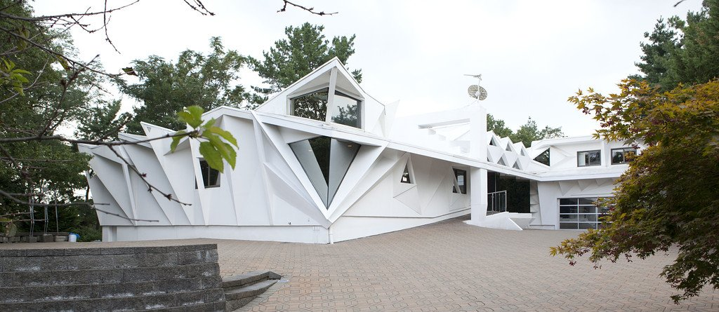 Fortress of Solitude – house inspired by movie