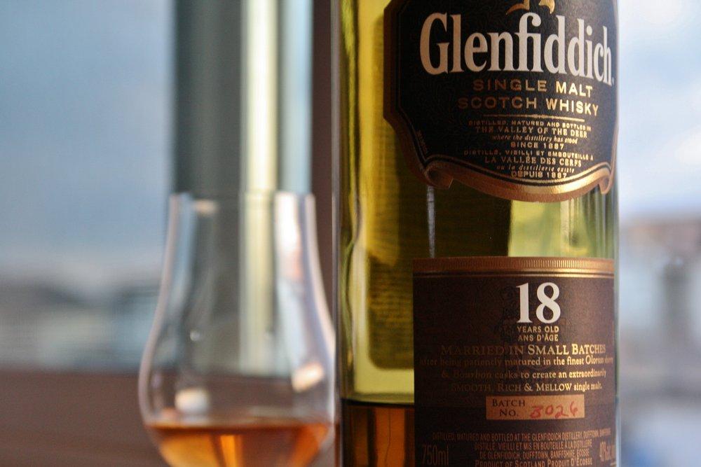 Glenfiddich 18-year – scotch under $100