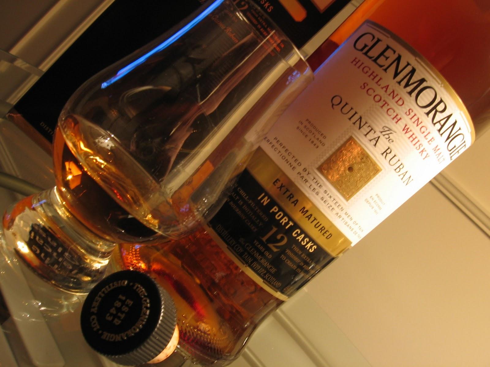 Glenmorangie Quinta Ruban 12-year – scotch under $100