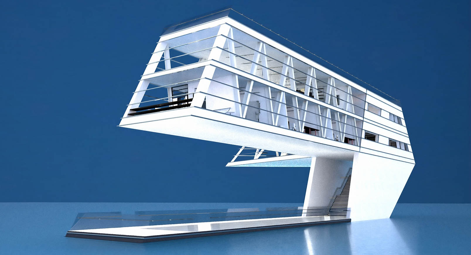 House on Water – floating home