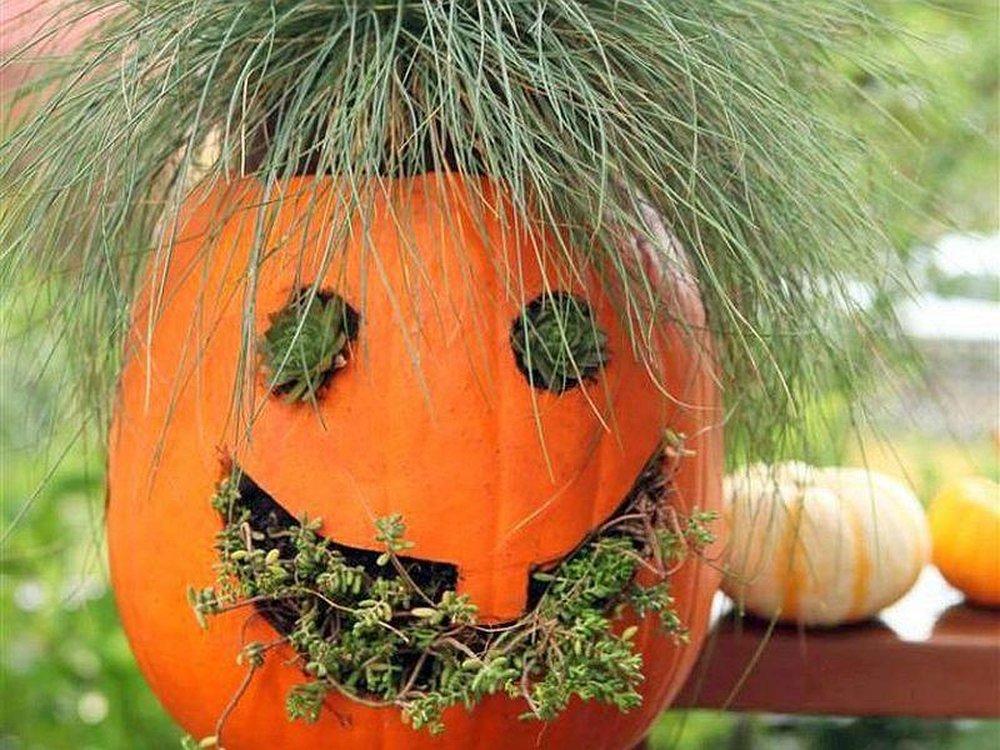 Jack-o-Planter – pumpkin carving halloween