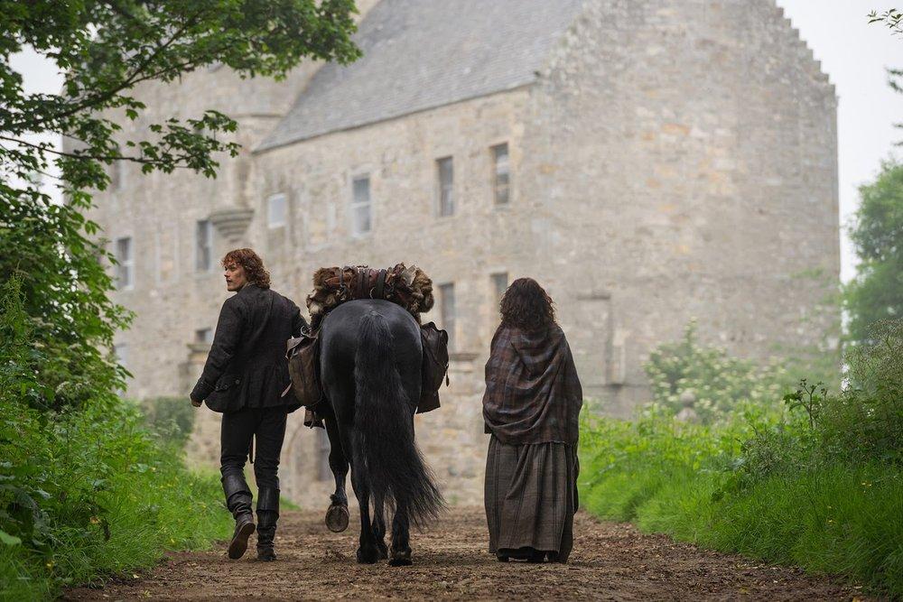 Midhope Castle Abercorn Scotland – tv and film travel destination