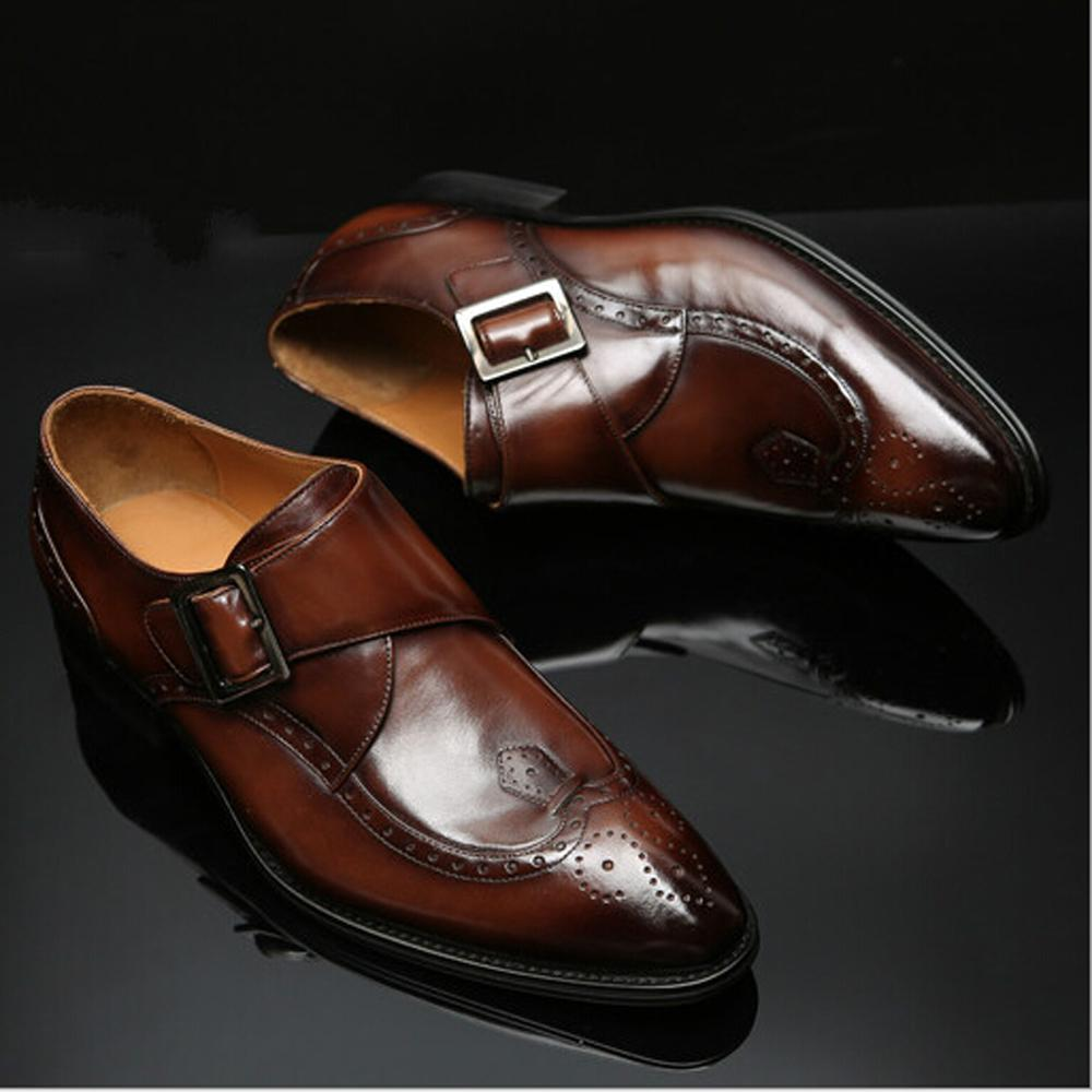 Monk Strap – dress shoes with jeans