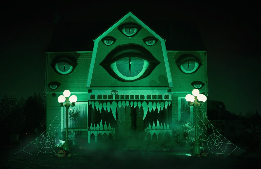 Monster House – halloween decorations