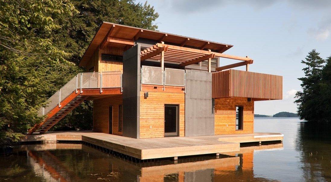 Muskoka Floating Cabin