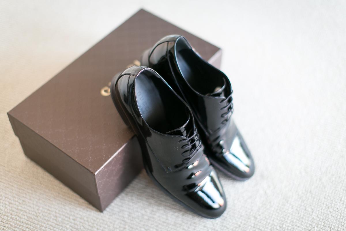 Patent Leather Shoes – tuxedo vs suit