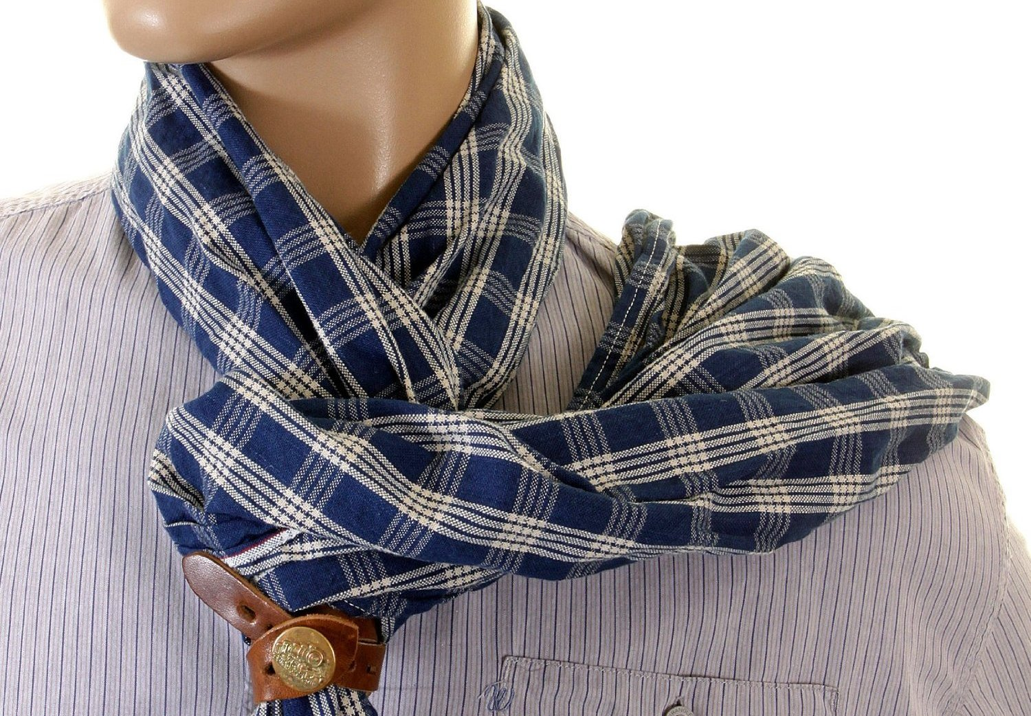 Pattern – how to wear a scarf men