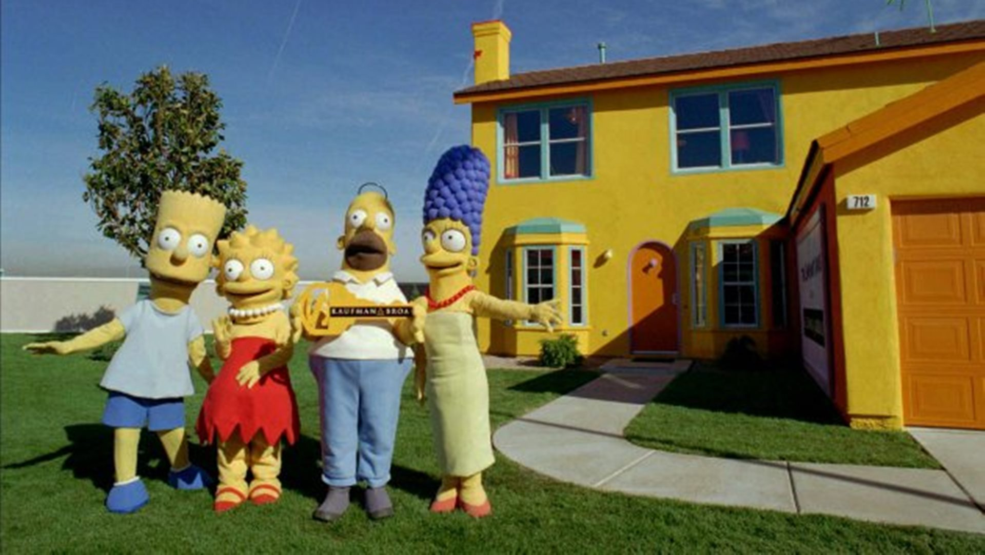 Simpsons Home – houses inspired by movies