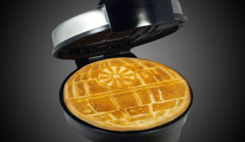 Star Wars Death Star Waffle Maker 345x200 15 Most Wonderful Waffle Makers For Pressing Your Batter