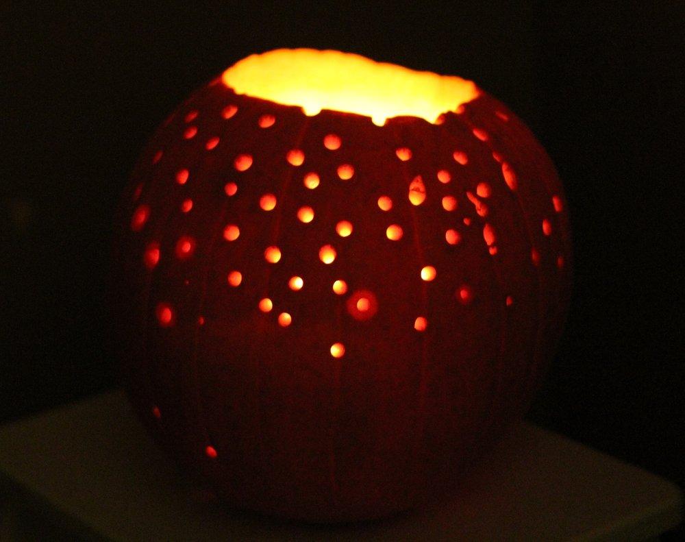 Starlight – pumpkin carving halloween