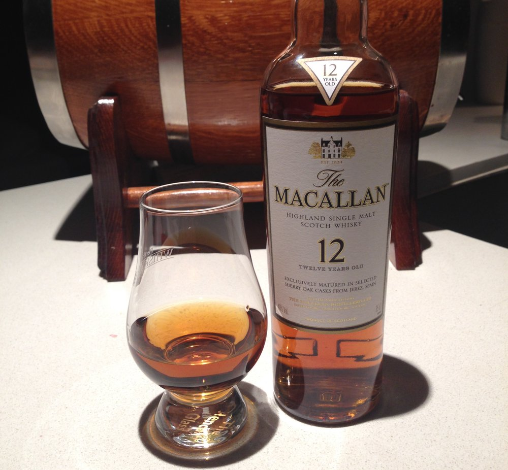 The Macallan 12-year – scotch under $100