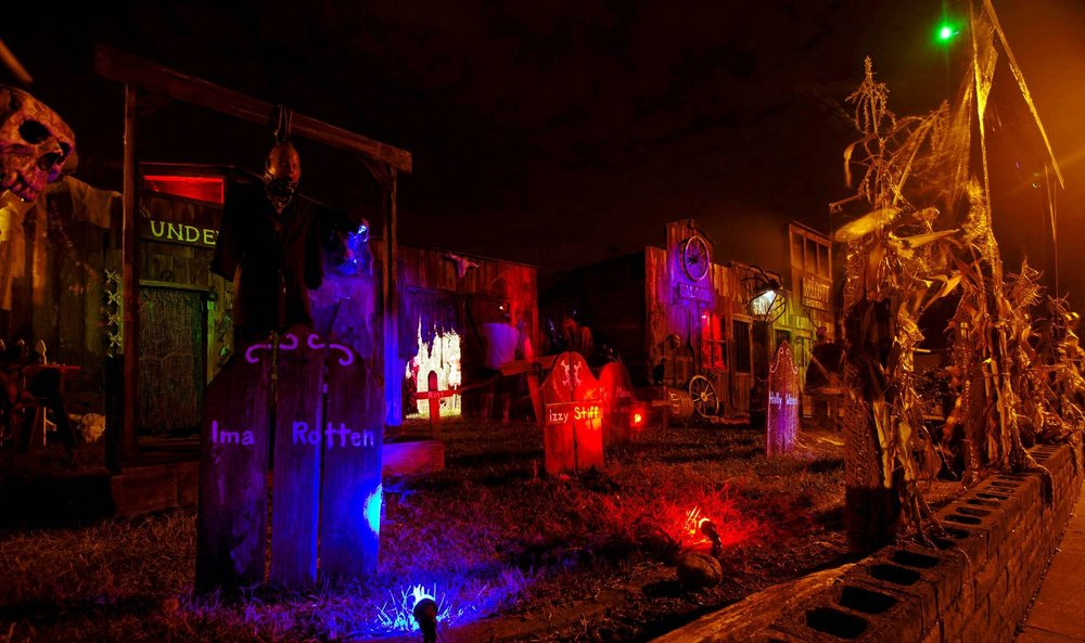 Town That Time Forgot – halloween decorations