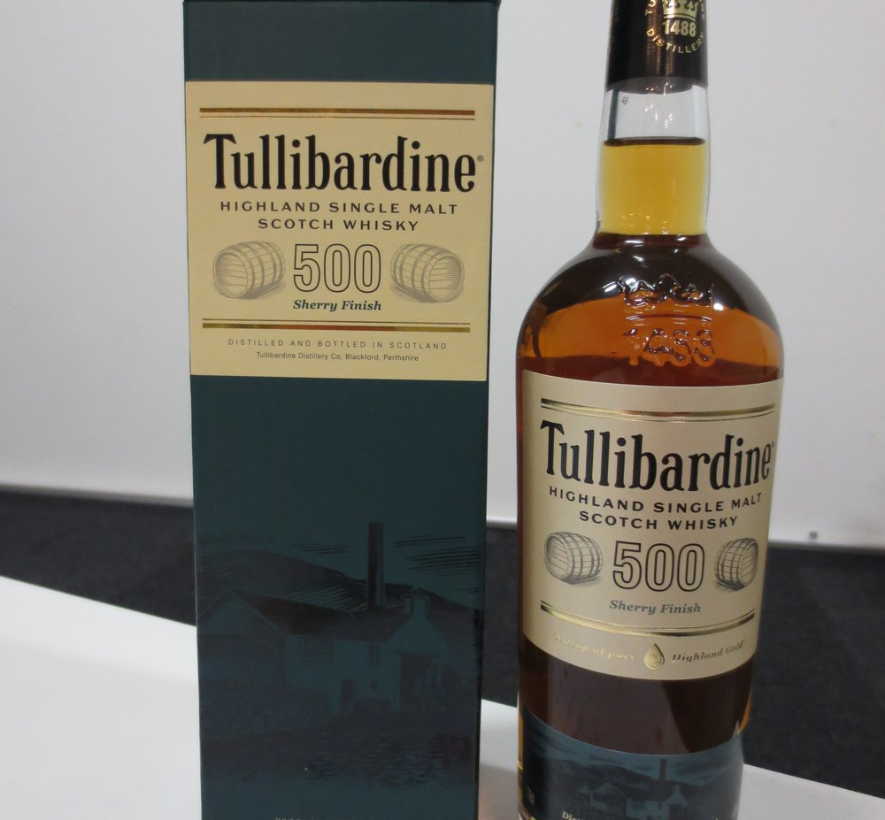 Tullibardine 500 Sherry Finish – scotch under $100