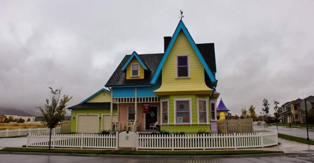 Up – house inspired by movie