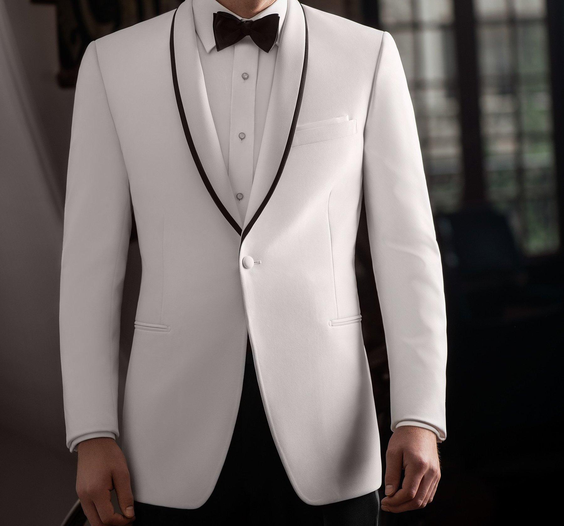 White Dinner Jacket – tuxedo vs suit