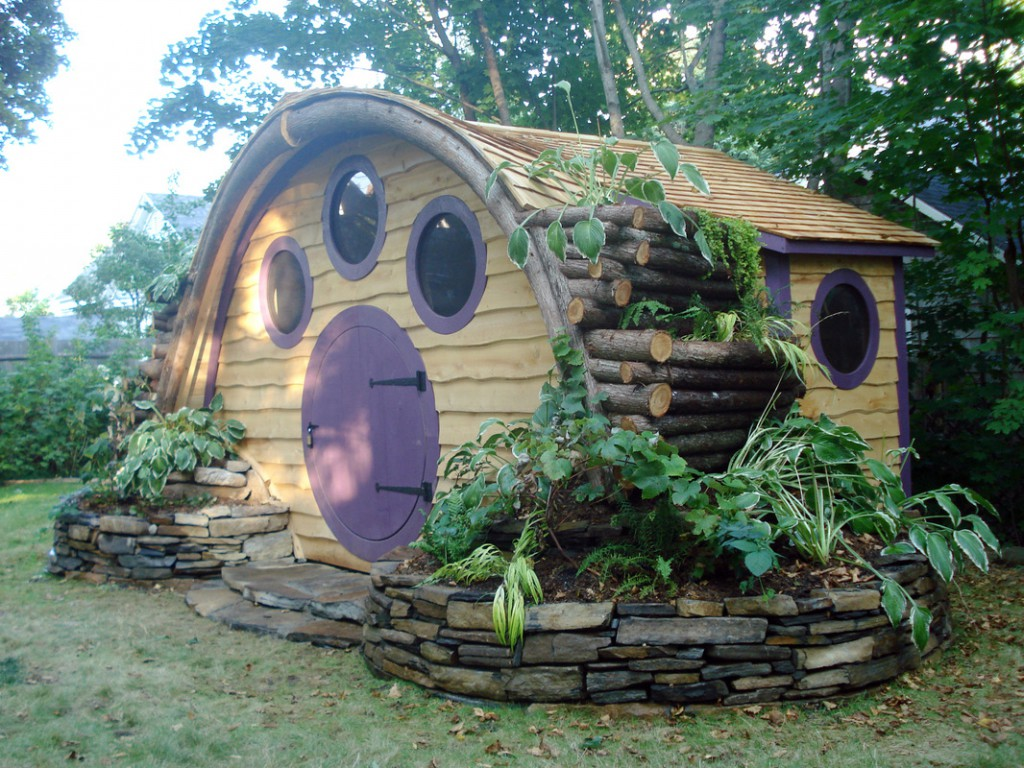 Wooden Wonders Hobbit Hole Homes