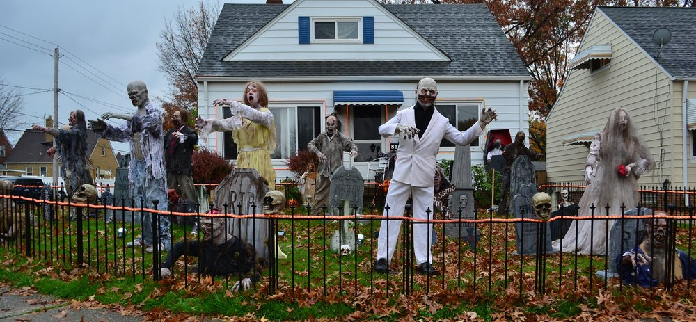 Zombie Dance Party – halloween decorations