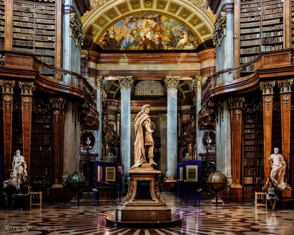 Austrian National Beautiful Library