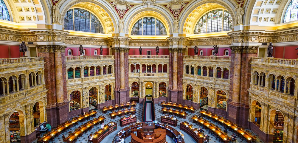 Beautiful Library of Congress