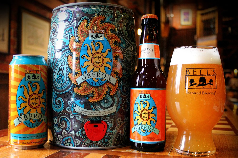 Bell's Oberon Ale – wheat beer