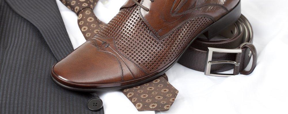 Belt Shoes Tie – dress for a job interview