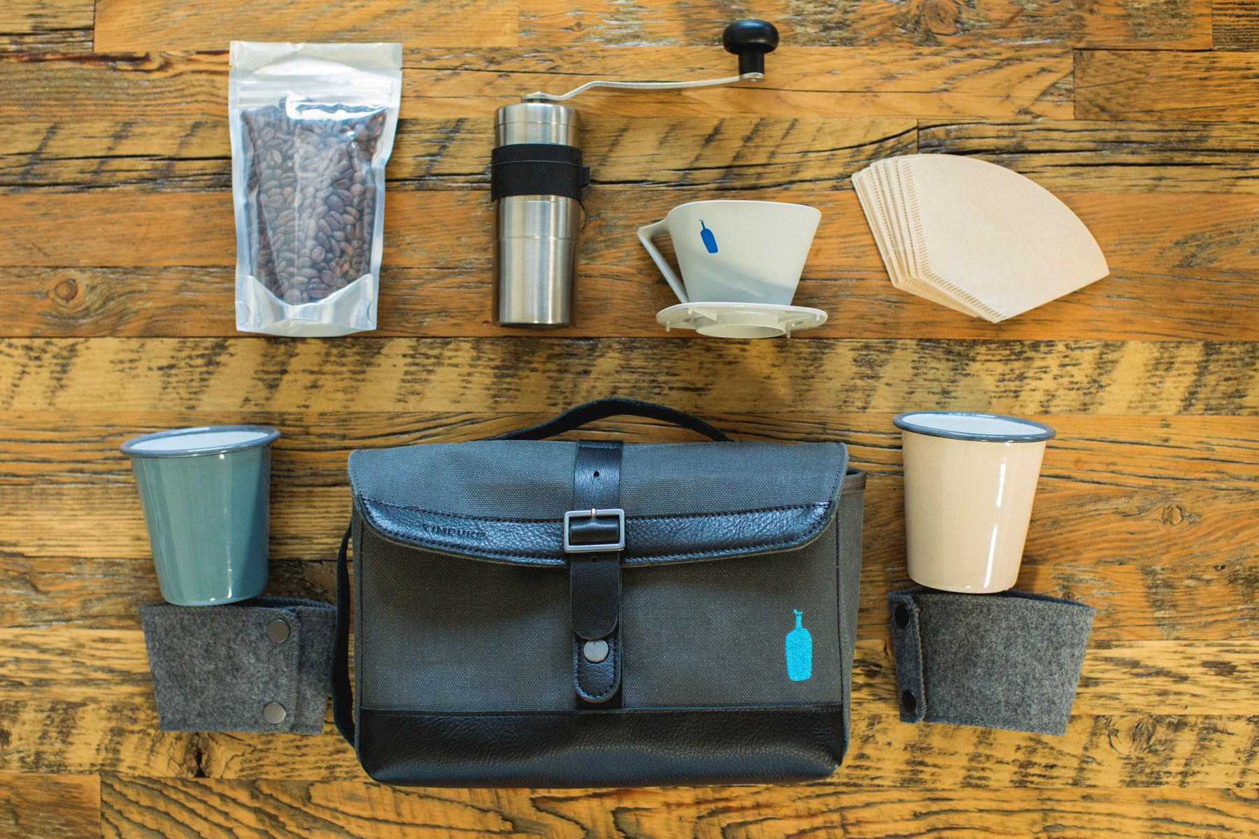 Blue Bottle Timbuk2 Coffee Sabbatical Travel Kit – gift for traveler