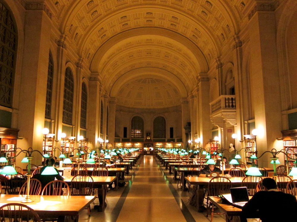 Boston Public Beautiful Library