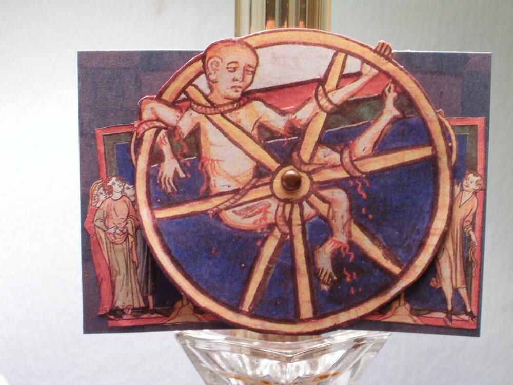 Medieval Torture Wheel