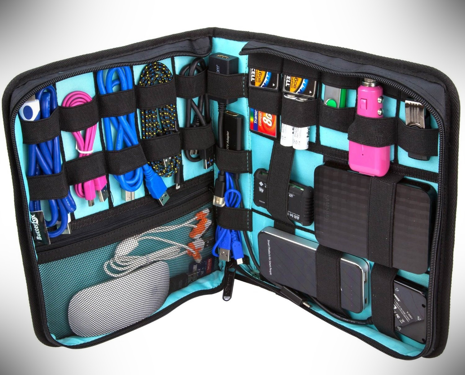 ButterFox Electronics Accessories Travel Organizer – gift for traveler