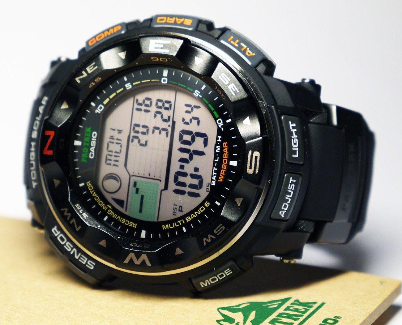 Casio PRW-2500R-1CR Pro Trek Tough Solar – tactical watch