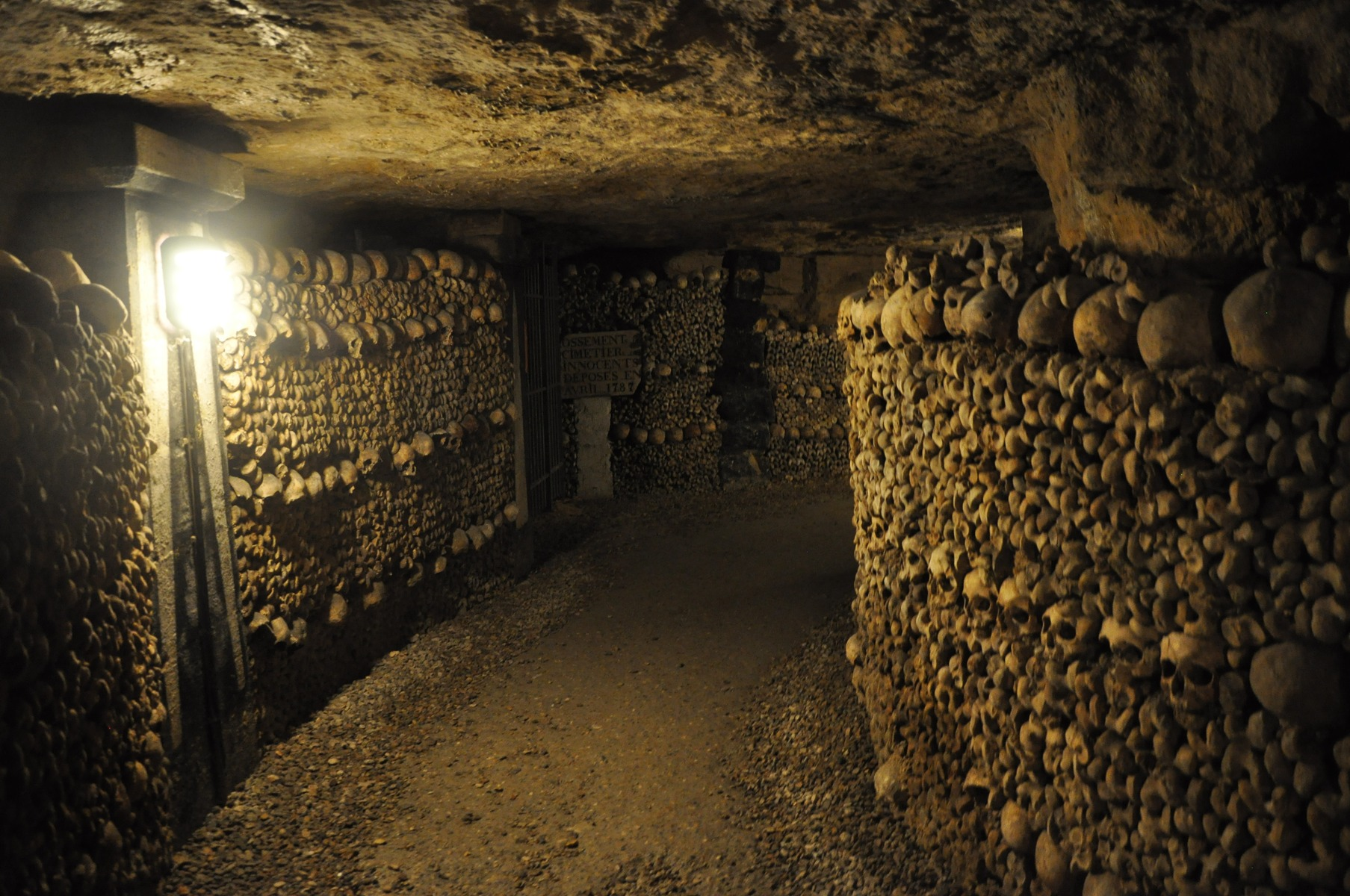 Catacombes de Paris France – honeymoon destination