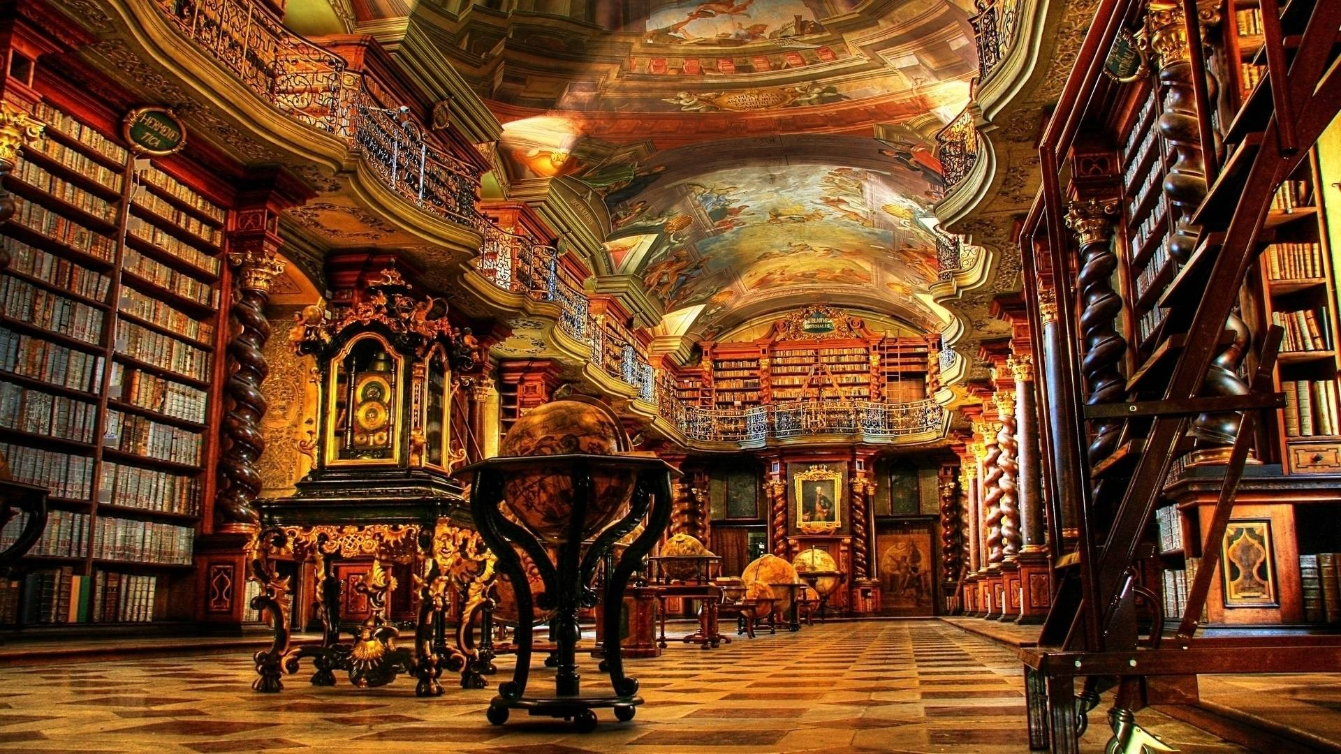 Clementinum – beautiful library