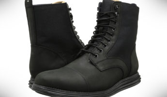 Cole Haan LunarGrand Lace Waterproof Boot for Men 345x200 Stay Dry While Walking Wet: 15 Best Waterproof Boots for Men