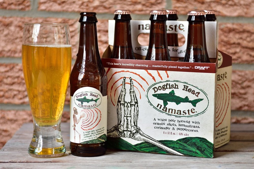 Dogfish Head Namaste – wheat beer