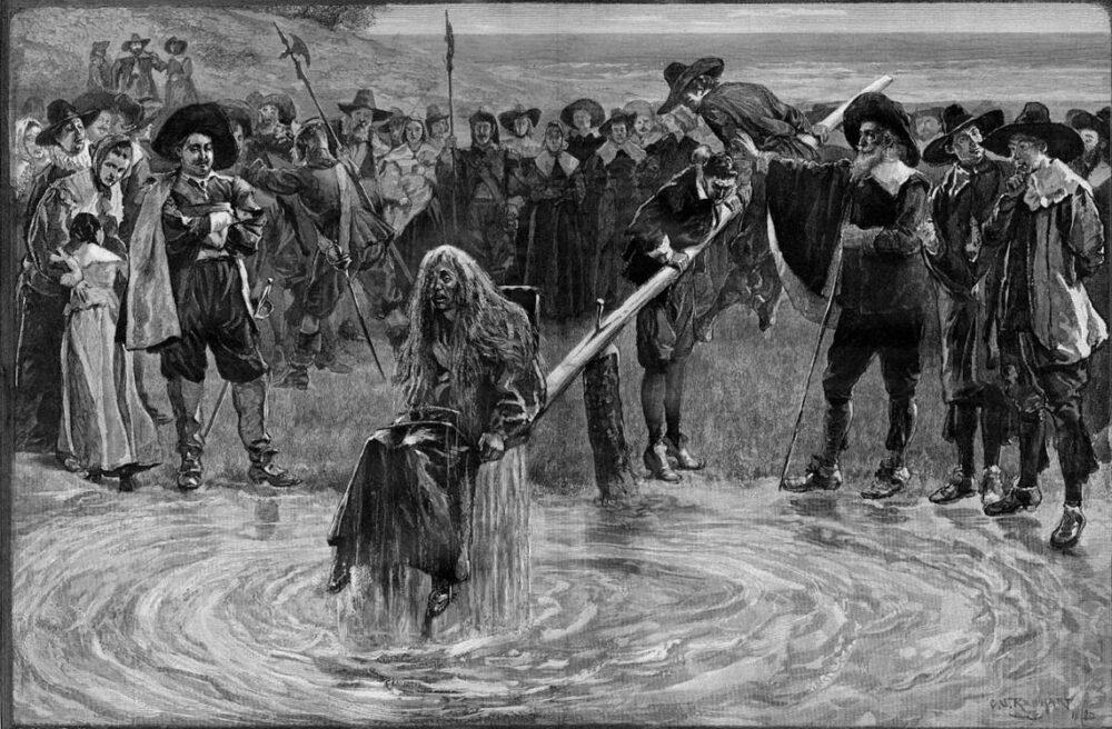 Ducking Stool Water Torture