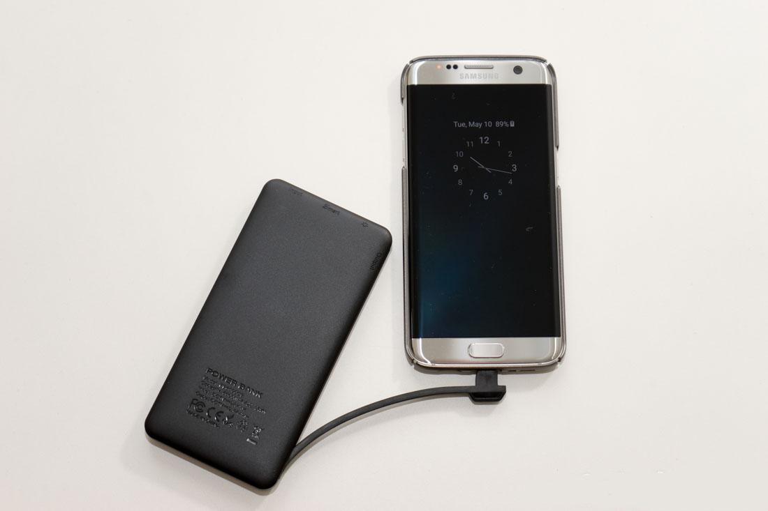 EasyAcc 6000mAh Ultra Slim External Battery – gift for traveler