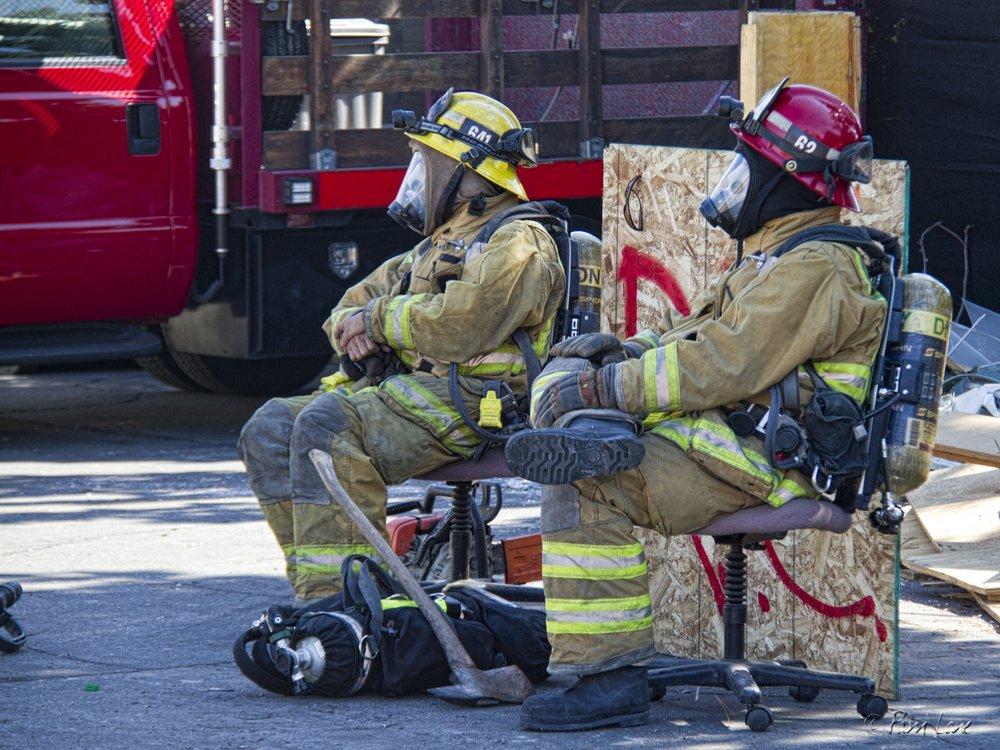 Firefighter – dangerous job