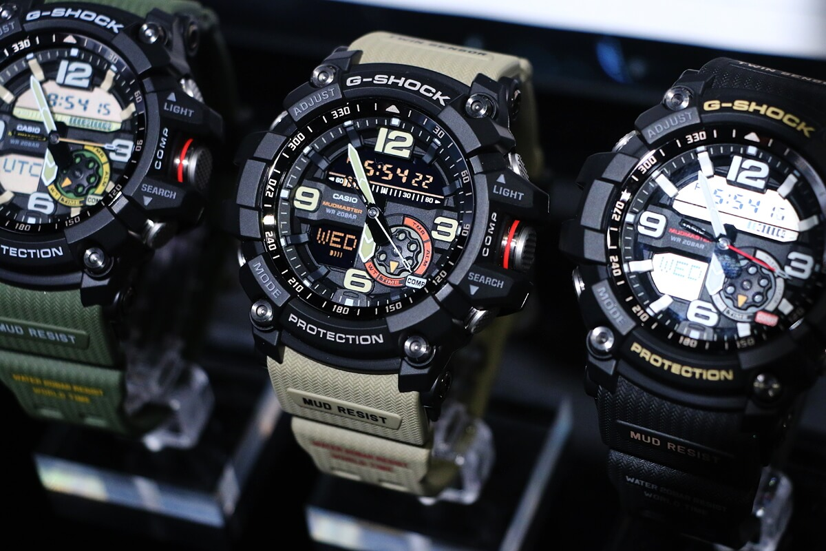 G-Shock Mudmaster Series – tactical watch