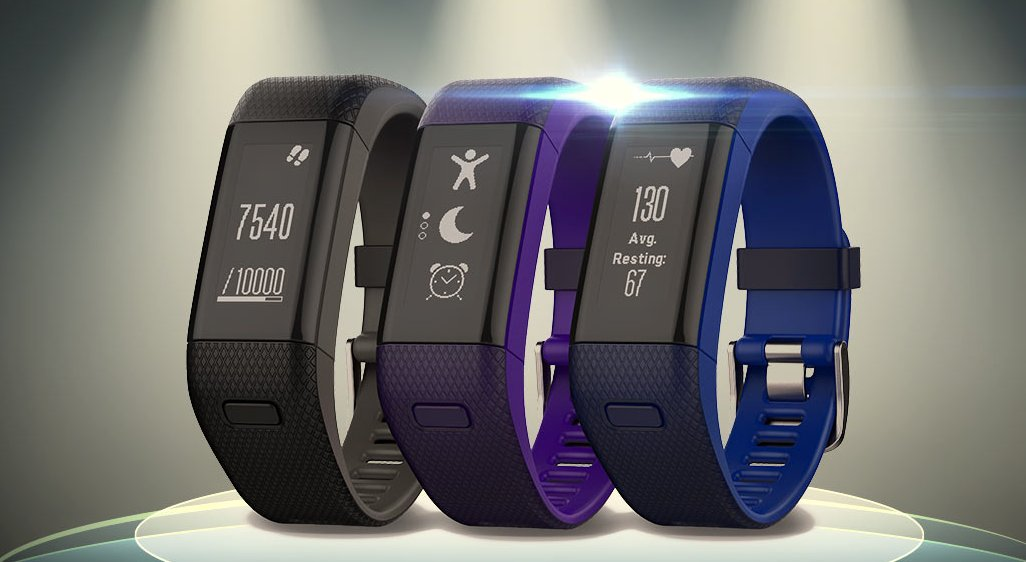 Garmin Vívosmart HR+ – fitness tracker