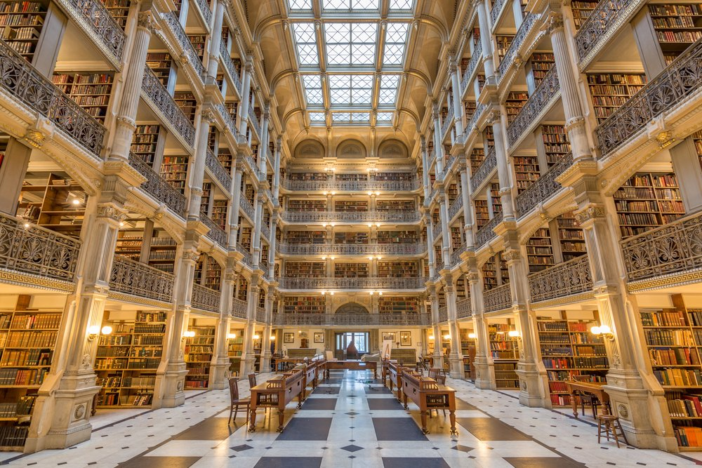 George Peabody Beautiful Library