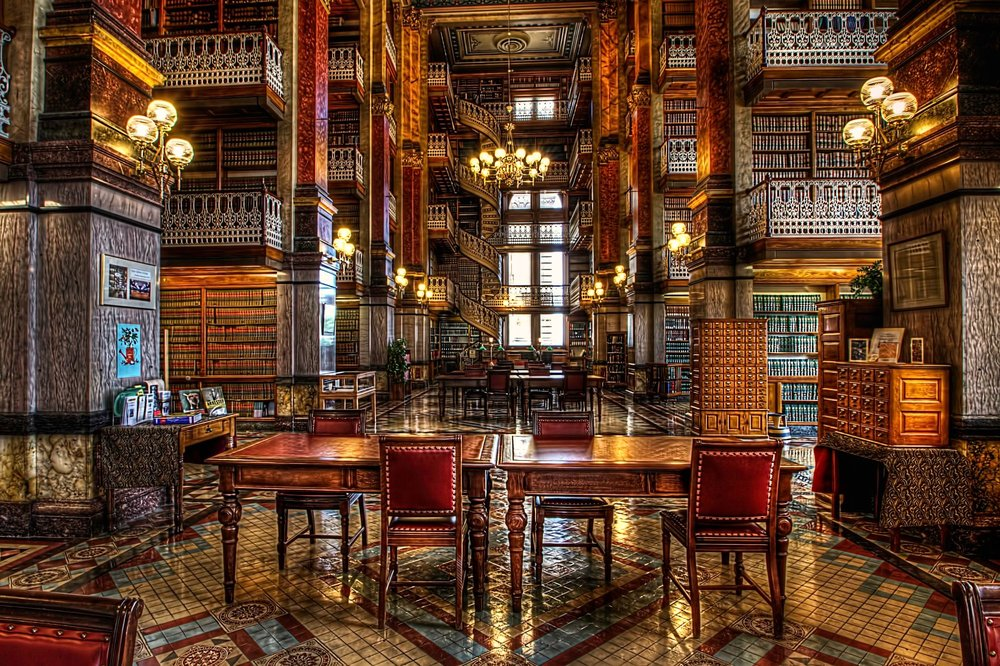 Iowa State Capitol Law – beautiful library