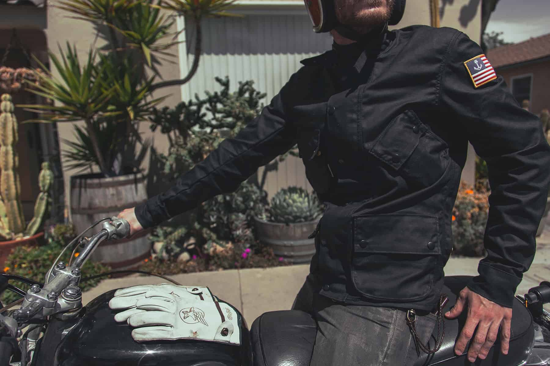 Iron & Resin x Vanson Mojave Motorcycle Jacket