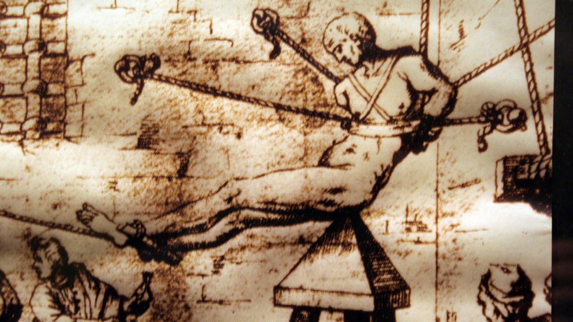 Judas Cradle – medieval torture device