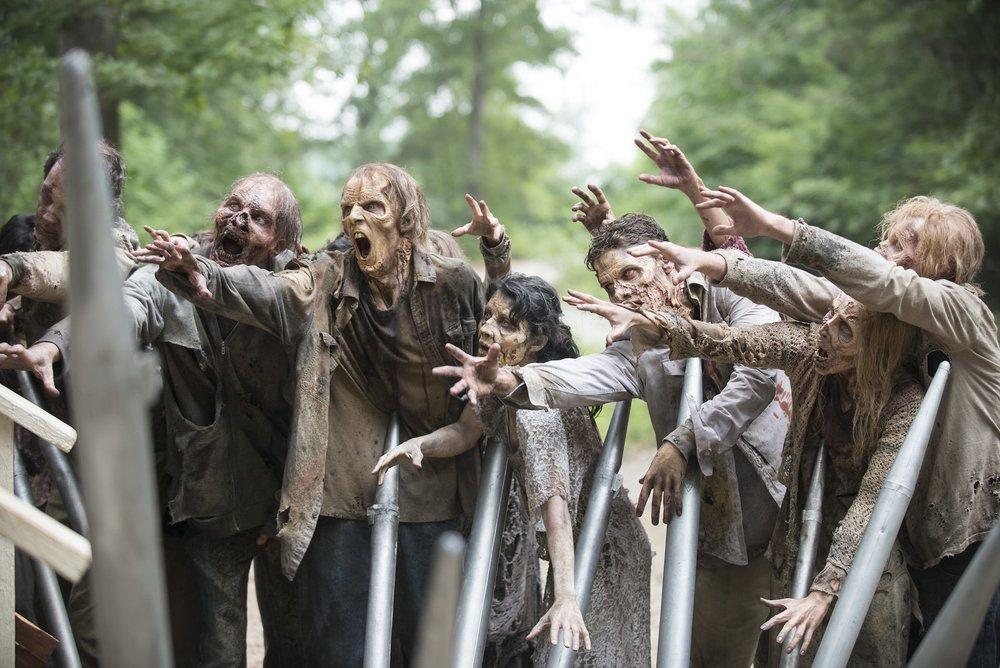 Walkers – The Walking Dead _ Season 5, Episode 8 – Photo Credit: Gene Page/AMC