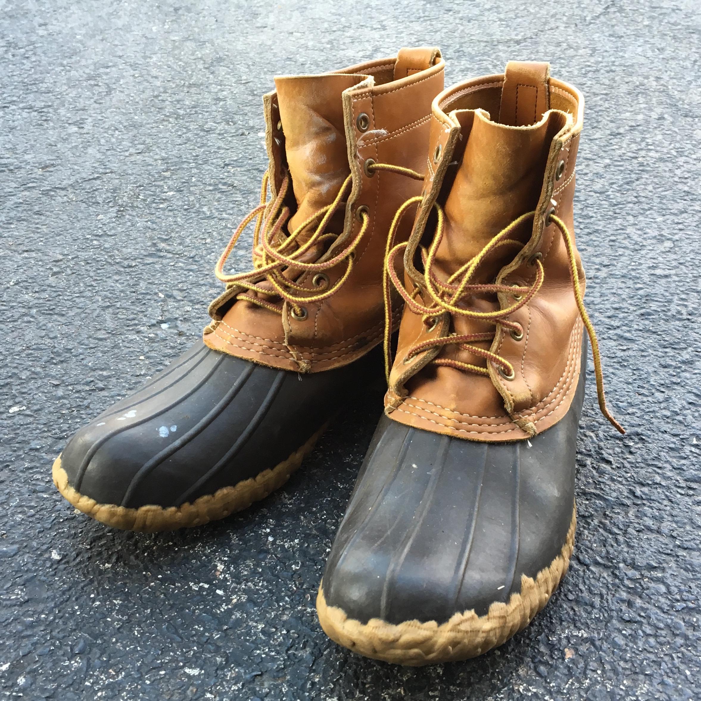 LL Bean Waterproof Duck Boots for Men