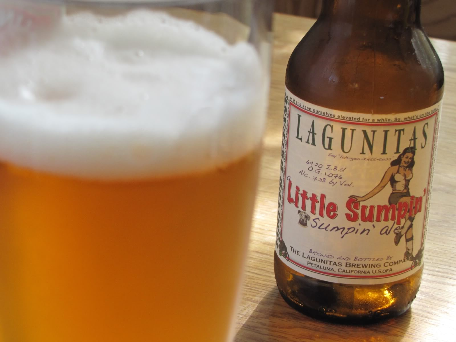Lagunitas Little Sumpin' Sumpin' – wheat beer