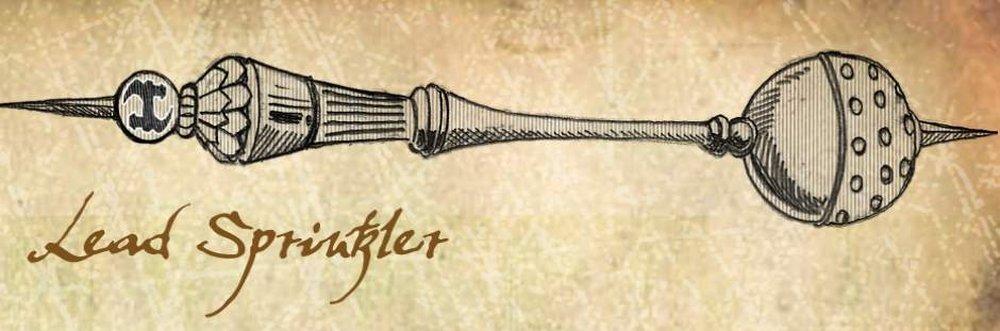 Lead Sprinkler – medieval torture device
